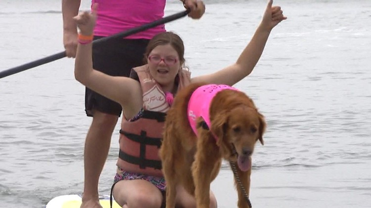 Change It Up: Ricochet the Surf Dog and owner honored for work in San Diego