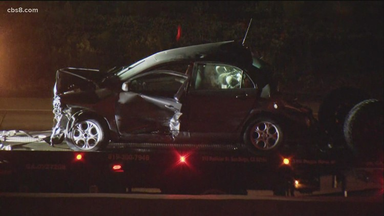 Major hit and run crash leaves at least one person dead on Interstate 15 near SR-56