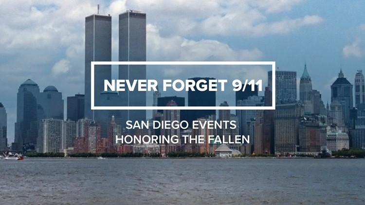 Never Forget: 9/11 events across San Diego for 20th anniversary