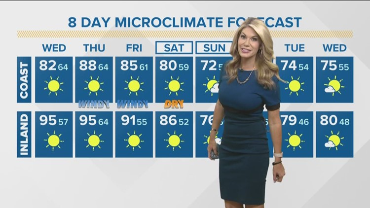 MicroClimate Forecast Wednesday Oct. 23, 2019 (Morning)