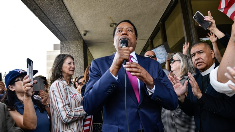 Judge puts Larry Elder on recall ballot, throws out tax return requirement