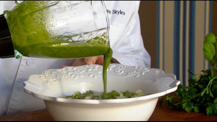 Cooking with Styles: Pesto