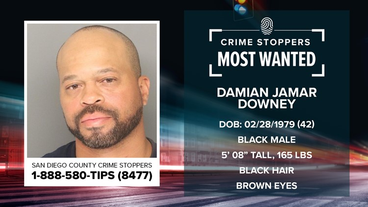 Crime Stoppers Most Wanted: Damian Jamar Downey