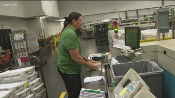 'He is one-of-a-kind': USPS honors blind San Diego mail clerk