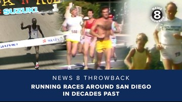 News 8 Throwback: Running races around San Diego in decades past