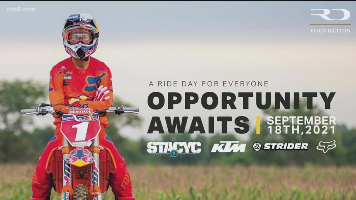 Ride Day for Everyone raising money for great causes