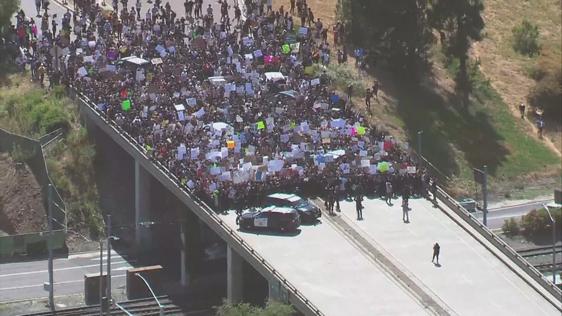 La Mesa protest firsthand perspective