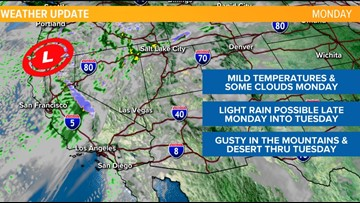 Gusty winds expected in San Diego County mountains, deserts