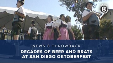 News 8 Throwback: Decades of beer and brats at San Diego Oktoberfests