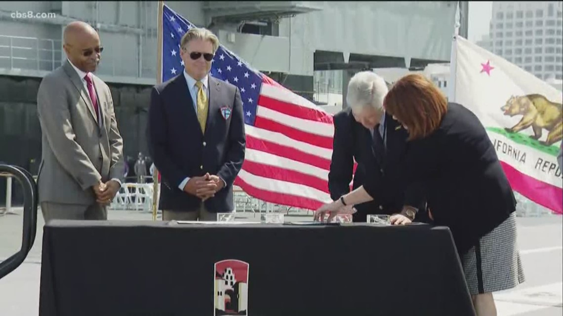 USS Midway Foundation pledges $3M to SDSU for program on modern US military history