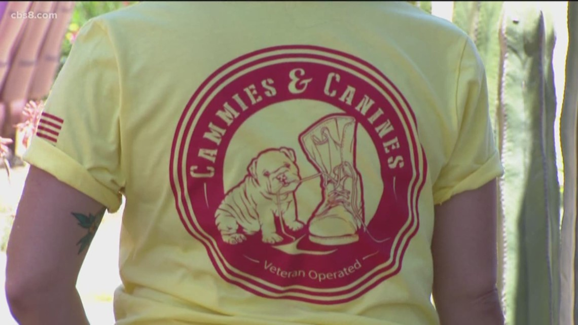 Cammies and Canines gets donated A/C