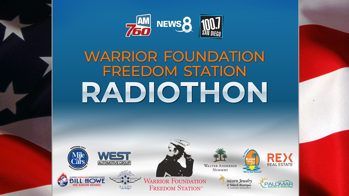 Warrior Foundation Freedom Station Radiothon 2019 - Thank you!