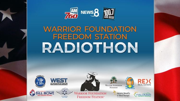 Warrior Foundation Freedom Station Radiothon 2019