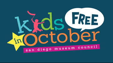 San Diego Museum Council - Kids Free In October