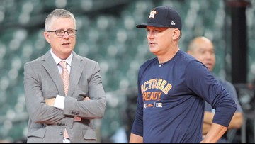 Astros owner fires manager and GM after both were suspended by MLB for 2017 cheating scandal
