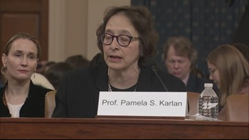 Professor Karlan 'insulted' by Congressman's remarks at impeachment hearing