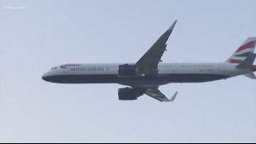 Stowaway's body falls from plane, lands next to London man sunbathing in backyard