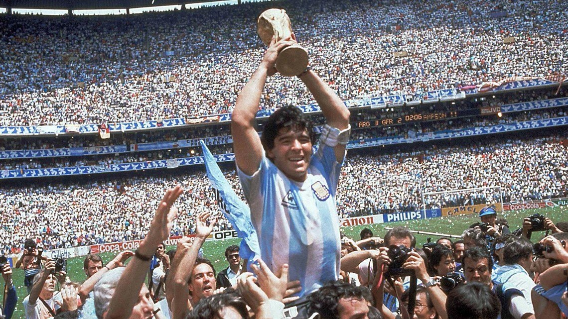 Soccer legend Diego Maradona dies at age 60