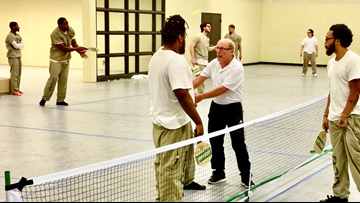 How a man's love for pickleball led him to coach prison inmates across the country