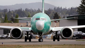 Boeing to halt 737 Max production in January, but denies layoffs