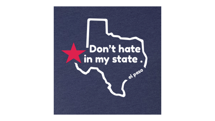 Don't Hate In My State t-shirt