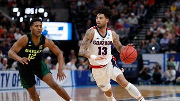 Gonzaga's Josh Perkins knocked out in first round of State Farm 3-Point Championship
