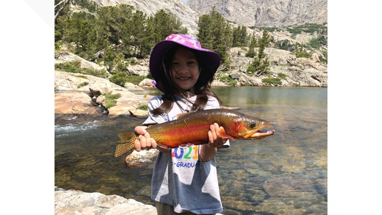 4-year-old lands potentially record-breaking golden trout