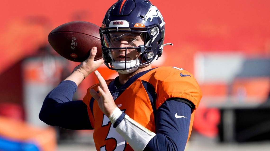 Broncos won't have quarterbacks against Saints because of COVID contact concerns
