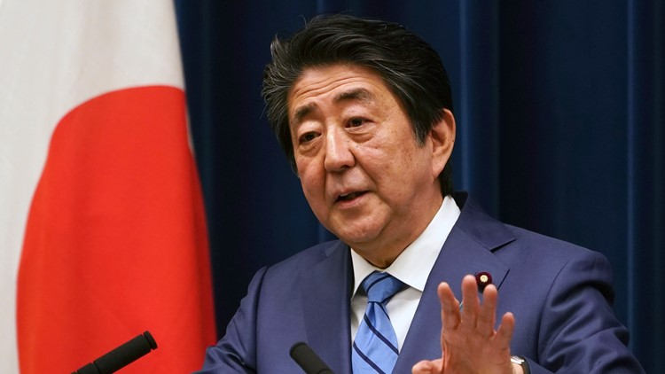 Virus Outbreak Japan Shinzo Abe