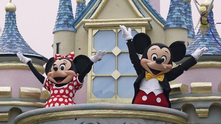2 men, woman charged in Disneyland brawl