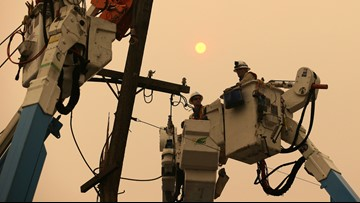 600,000 PG&E customers could be impacted by power shutoffs this week