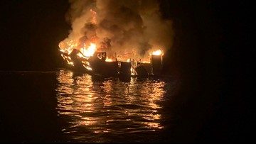 Coast Guard: 25 bodies found, 9 still missing from deadly California boat fire | UPDATE