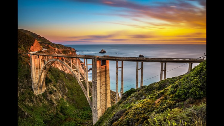 California's Pacific Coast Highway is an amazing route for your next road trip. (Image by Nick Fox/Shutterstock)