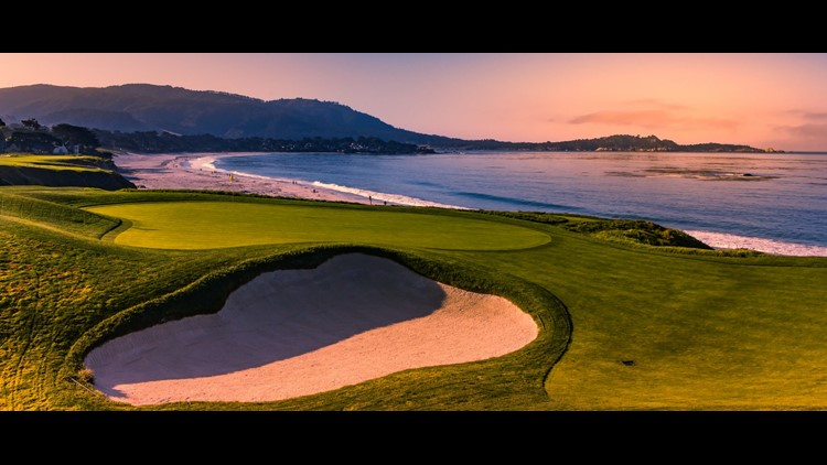 Pebble Beach is a sight to behold, even if you aren't interested in golf. (Image by Isogood_patrick/Shutterstock)