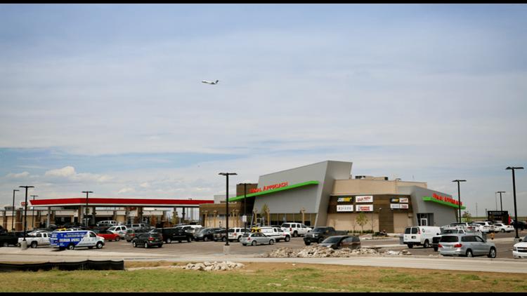 The Final Approach cellphone lot at Denver International Airport. (Photo courtesy of Denver International Airport)