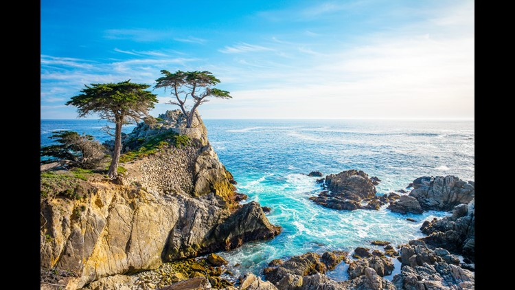 The coastal views from Monterey's 17-Mile Drive are incredible! (Image by Lynn Yeh/Shutterstock)
