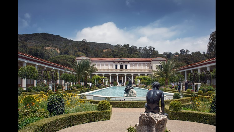 The Getty Villa in Malibu, the former home of J. Paul Getty, is now a museum. (Image by By Roka/Shutterstock)