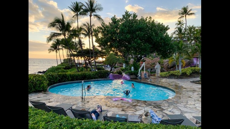 The kids pool at the Hilton Waikoloa. (Photo by Summer Hull / The Points Guy)