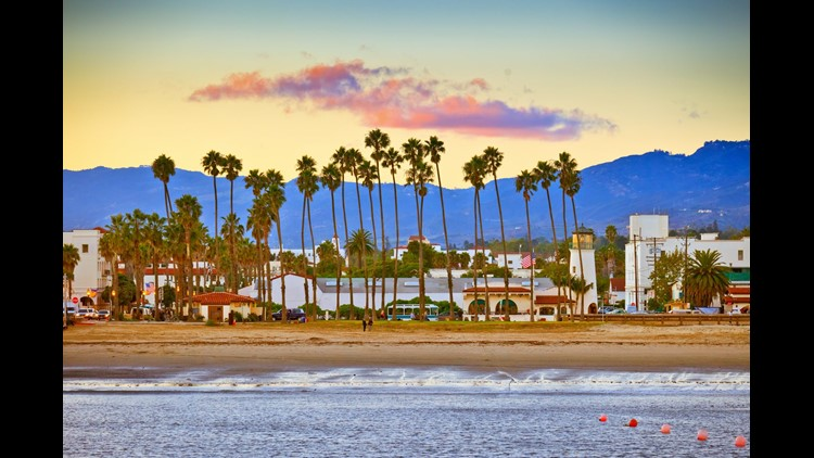 Santa Barbara — beautiful beaches and a fun college town in one place. (Image By S.Borisov/Shutterstock)