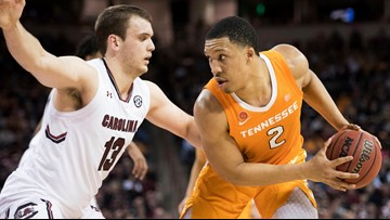 Grant Williams named to Wooden Award All-American Team, finalist for Wooden Award Trophy