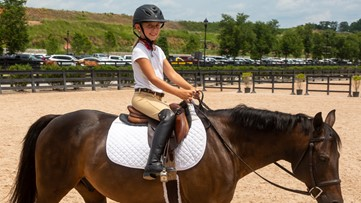 8-year-old recently diagnosed with Crohn's disease gets surprise trip to equestrian center