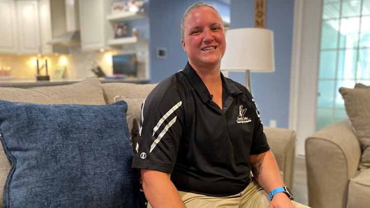 Wounded Maine veteran gets keys to new and accessible home