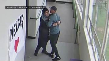 'I felt compassion for him' Oregon coach embraces student after disarming him in school hallway