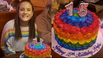 Student expelled for rainbow shirt and cake, mom says