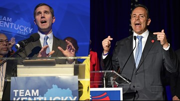 Andy Beshear declares victory, Matt Bevin refuses to concede in Kentucky governor's race