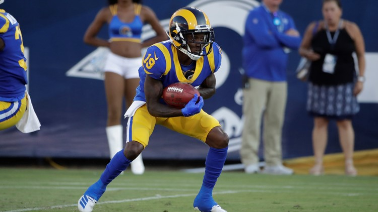 JoJo Natson Denver Broncos-Los Angeles Rams Football