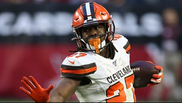 Browns RB Kareem Hunt has marijuana found in car during traffic stop, police report says