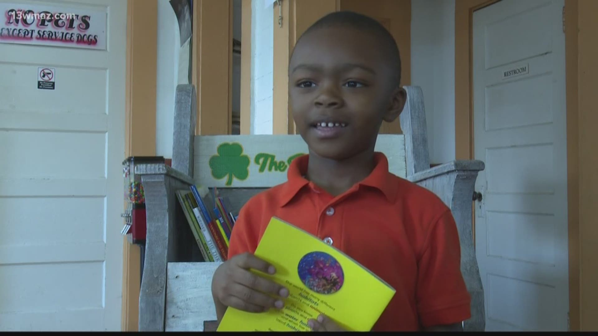 Books Barbers And Beauty Dublin City Schools Hopes To Get More Kids Reading While Getting Their Hair Done Cbs8 Com
