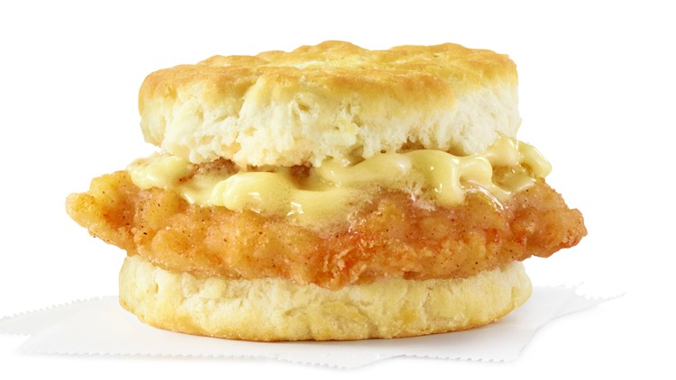 Wendy's offering free Honey Butter Chicken Biscuit to kick off March Madness