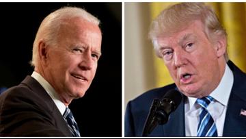 Trump defends an unlikely target: Joe Biden